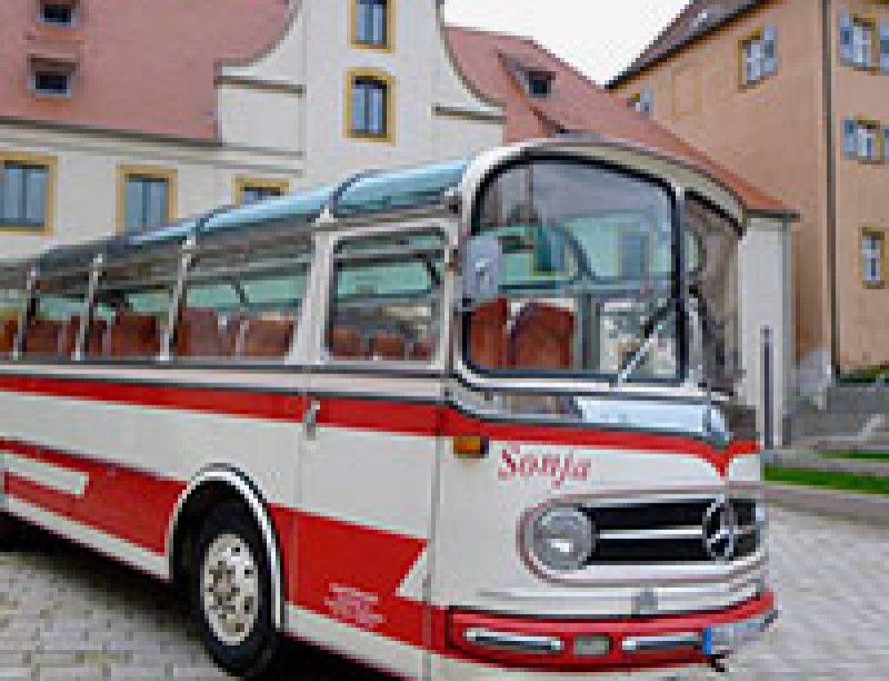 Mit dem wín-Weihnachtsbus unterwegs zwischen Ulm und Neu-Ulm