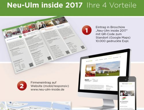 Neu-Ulm inside 2017 – Ihre 4 Vorteile