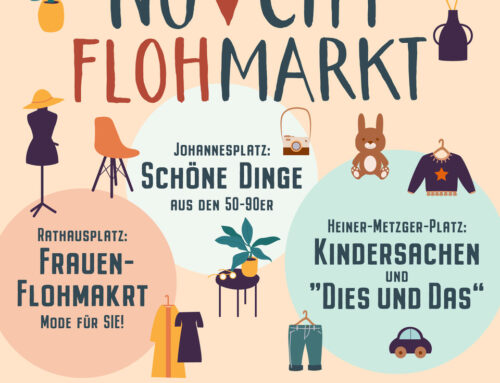 Neu-Ulmer City Flohmarkt am 02.10.2021
